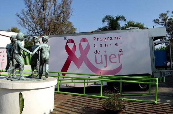 Lleva DIF Municipal de Morelia Unidad Móvil de Mastografías a Colonia Gertrudis Sánchez