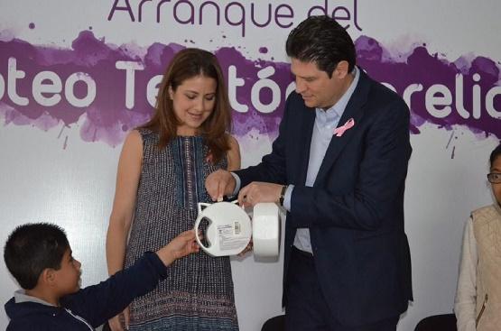 Se Suma Ayuntamiento de Morelia a Boteo Teletón