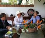 Recibe Gobernador Silvano Aureoles a Titular de Sagarpa en Casa de Gobierno