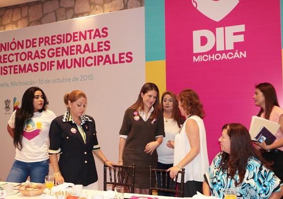 Garantizan Sistemas DIF Morelia y Estatal Trabajo Coordinado a Favor de los Grupos Vulnerables