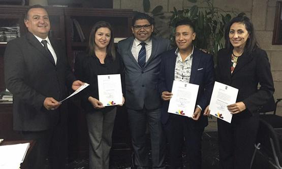 Entrega Sergio Mecino Nombramientos a Directores y Coordinadores en la Consejería Jurídica