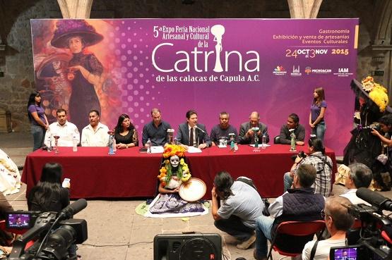 Invita Ayuntamiento de Morelia a Ciudadanía a Asistir a la Feria de la Catrina