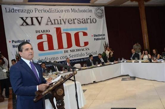 Garantiza Silvano Aureoles Libertad de Prensa Para Consolidar Democracia en Michoacán