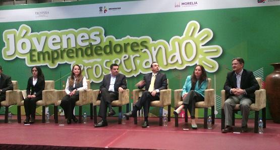 Asiste Secretaria de Desarrollo Económico de Morelia a Arranque de Proyecto de Jóvenes Emprendedores