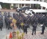 Arriban 200 Elementos de la División de Gendarmería de la Policía Federal a Uruapan