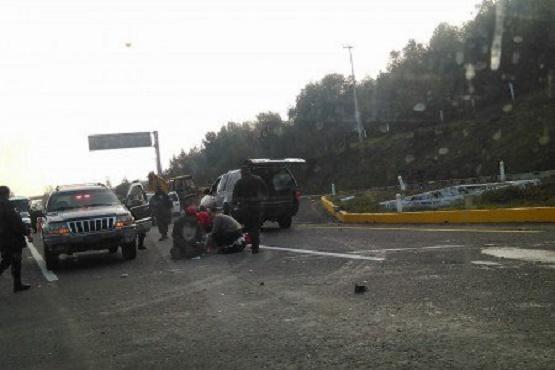 Atropellan a Motociclista en Salida a Pátzcuaro