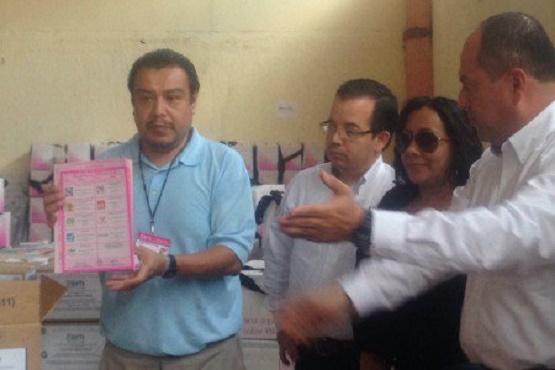 Arriba Material Electoral a Ciudad Hidalgo Bajo Resguardo