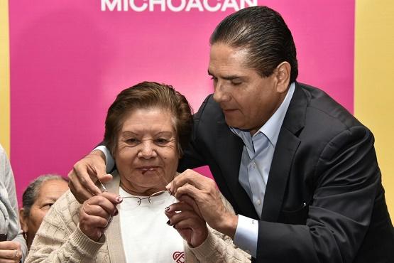 Impulsaremos más Beneficios Para las y los Adultos Mayores: Silvano Aureoles