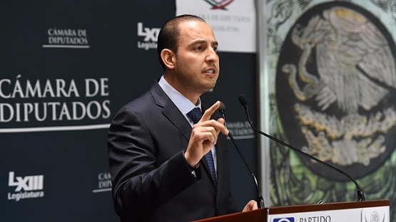 Castillo Debe dar la Cara por Hechos en Apatzingán: Marko Cortés