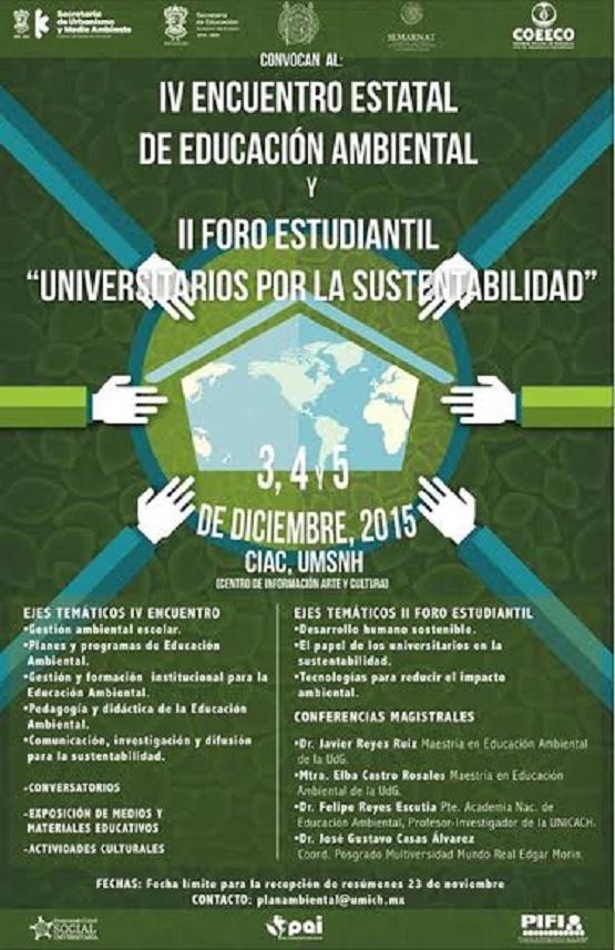 Casa de Hidalgo, Sede del IV Encuentro Estatal de Educación Ambiental