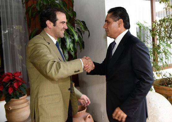 Recibe Silvano Aureoles a Presidente del INE en Visita de Cortesía