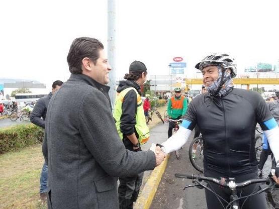 Morelia, a Favor de Medios Alternativos de Transporte: Alfonso
