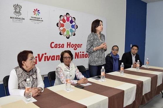 Fundaciones Apoyan a Casas Hogar del DIF Michoacán
