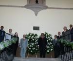 Preside Salvador Jara Acto del XCVII Aniversario de Fundación de la Universidad Michoacana de San Nicolás de Hidalgo