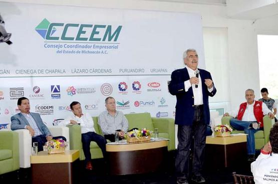 Michoacán Requiere de Orden y Agallas, eso lo Tiene Chon Orihuela: César Camacho