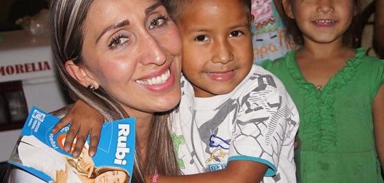 Educación la Base del Desarrollo: Rubí Rangel