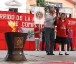 """Huandacareo Vivió la Gira de la Antorcha DSISO 2014 """"Vive, Comparte, Inspira"""""""