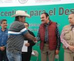 Entregan SAGARPA y SEDRU 181 mdp Para más de 9 mil Productores Michoacanos