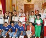 Ayuntamiento Moreliano Reconoce a Deportistas Destacados del 2014