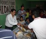 Entrega Ernesto Núñez Apoyos en la Colonia Jesús Romero Flores de Morelia