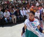 Inicia la 3° Fiesta Purépecha en Uruapan
