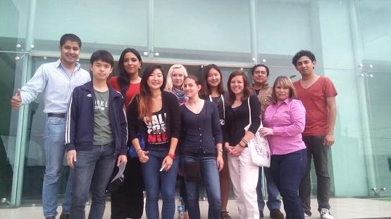 Jóvenes del Mundo Realizan Labor Comunitaria en Beneficio de Morelia