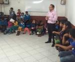 DIF Michoacán Imparte Taller de Prevención a Jóvenes de Janitzio