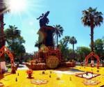 Ofrenda Monumental al Siervo de la Nación