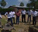 Colocan Primera Piedra de la Unidad Administrativa del Plantel Icatmi San Lucas