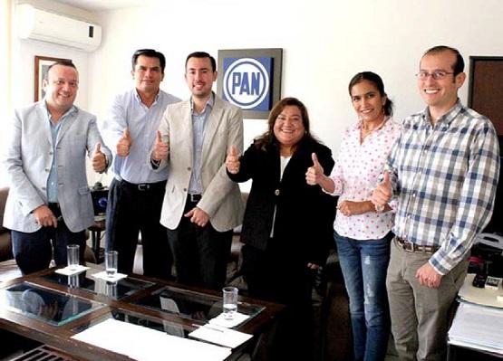 PAN Instala Comisión Auxiliar en Michoacán Para la Renovación del CEN