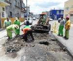 Continúa Obras Públicas Municipal Conservación y Mantenimiento de Vialidades