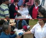 DIF Michoacán Atiende 683 Personas en Colonia Presa de Los Reyes