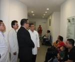 Secretario de Salud, Realiza Recorrido por la Clínica de Labio y Paladar Hendido