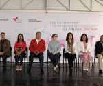 Catherine R. Ettinger Inaugura el Bazar Artesanal y Cultural de Morelia