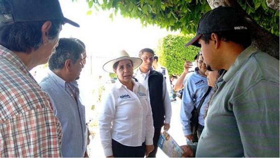 Michoacanos Reiteran su Apoyo a 'Cocoa'