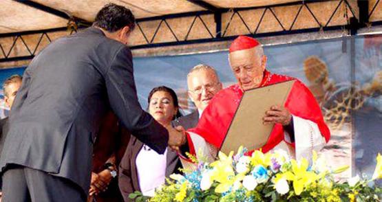 Alberto Suárez Inda Recibe la Llave de la Ciudad de Puruándiro