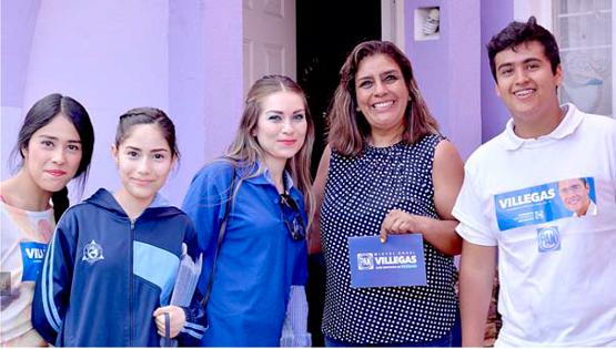 Miguel Angel Villegas es un Excelente Líder en la Familia: Marira Arcos