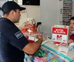 Entrega Secretaría de Seguridad Pública de Michoacán 100 Botones de Emergencia en el Municipio de Alvaro Obregón