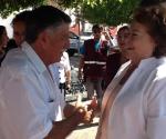 María de la Luz Núñez Ramos Visita Churintzio
