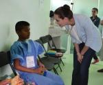 Miriam Cruz de Abud Visita Hospital Infantil