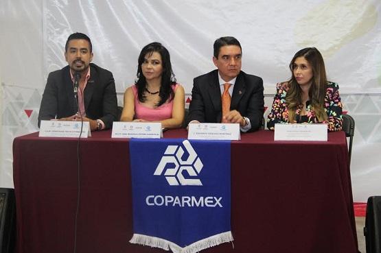 Colaborarán COPARMEX y Sejoven en Beneficio de Empresarios Juveniles