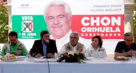Necesario Ganar Elección por Amplia Mayoría Para Desperredizar Michoacán: Chon