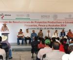 En Alianza con Productores, Gobiernos Estatal y Federal Entregan Apoyos por más de 123 mdp