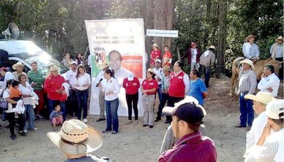 Reafirma Nelly Sastré su Apoyo a la Zona Rural de Morelia