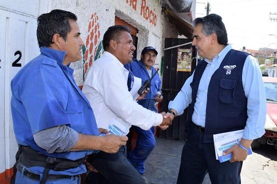 Cero Baches en Morelia, Propone Nacho Alvarado