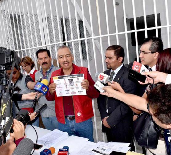 PRI Ratifica Denuncia Penal Contra Silvano por red de Corrupción