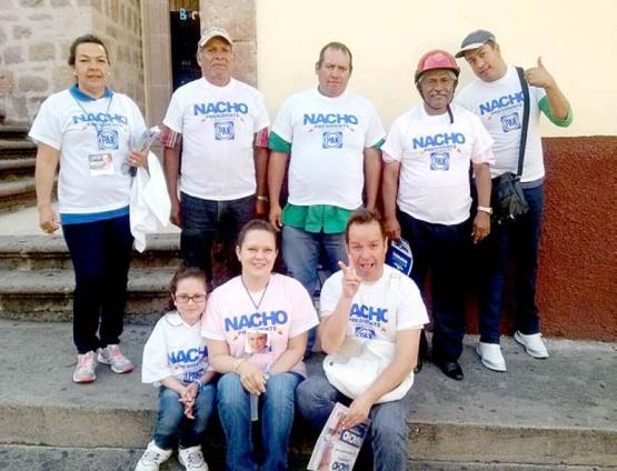 Logran Visitar 700 Colonias Nacho Alvarado y su Planilla