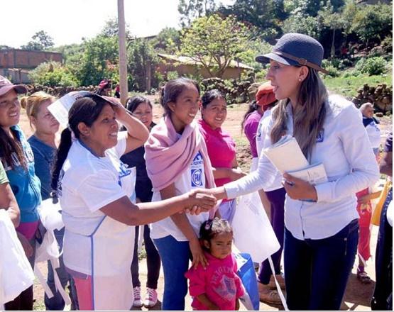 Vamos a Recatar a las Zonas Rurales de la Tristeza y del Olvido: Rubí Rangel