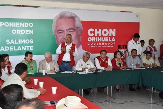 El PRI va en Claro Ascenso, los Contrincantes van en Picada: Agustín Trujillo