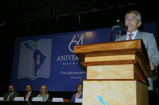 Asiste Gobernador Salvador Jara a 64 Aniversario de Fundación del CREFAL